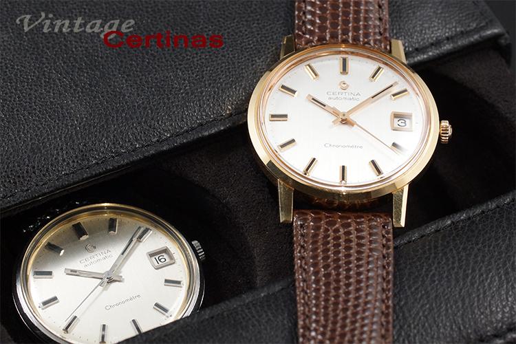 Ein Paar Certina Chronometer