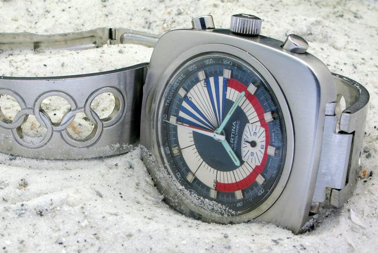 Chronolympic 'Regatta' mit Valjoux 728 © Quadrilette172/Watchtime Forum