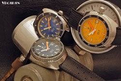 Nice little bunch with three Vintage DS Dive Watches &#169 vegaban/ForodeRelojes.es