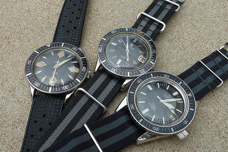 Trio with three Certina DS diver © Eric Lechner
