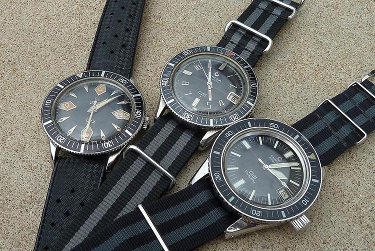 Trio mit drei Certina DS Diver © Eric Lechner
