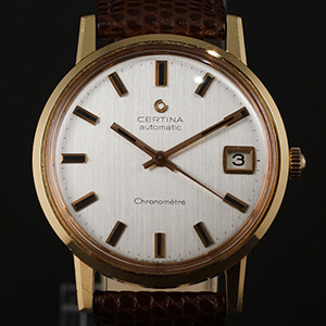 Automatic Chronometer 18kt. Gold