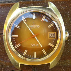 DS-2 Automatic goldplaque