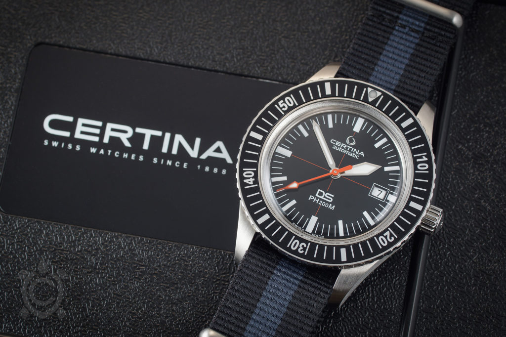 Certina DS PH200M with nato strap